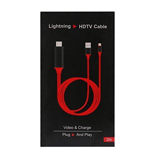 Zactech iOS 10 HD TV HDTV AV Lightning 8 Pin to HDMI...