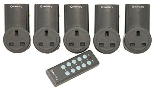 mercury-350115-10a-five-piece-remote-control-mains-socket-adaptor-set