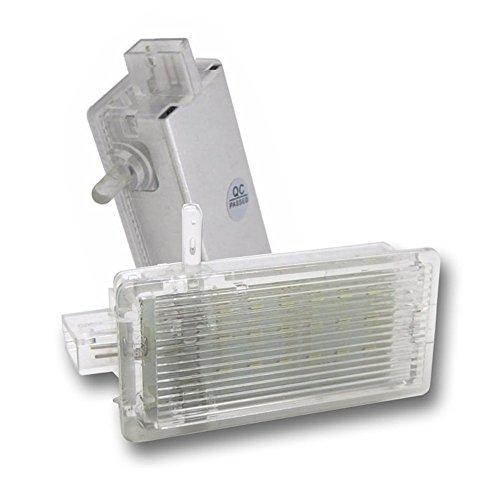 GOFORJUMP pour BMW E46 E53 X5 E81 E82 E83 X1 E87 Facelift E92 F25 X3 Mini R50 sans Erreur 18 LED Coffre Coffre Botte Boîte À Gants Lampe Lumière