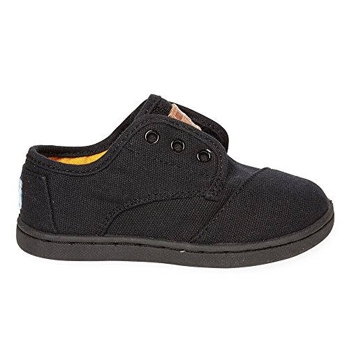 Kids Paseo Mid - Brown Synthetic Leather Black on Black Canvas