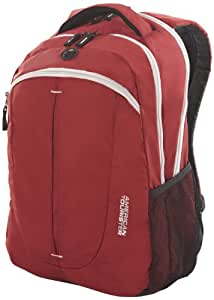 American Tourister 22 Lts Buzz Nylon Red and White Laptop Backpack