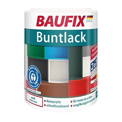 BAUFIX  Buntlack Weiß