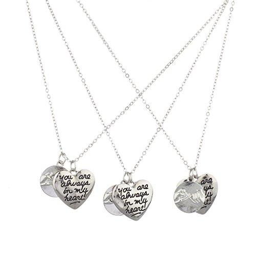 lux-accessoires-silvertone-pinky-affirmer-votre-sont-toujours-dans-mon-coeur-collier-femme-lot-de-3