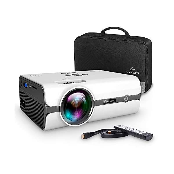 VANKYO Projector, LEISURE 410 Video Projector 2500 Lumens with Bag-White … 41c 2BMJ1EkJL