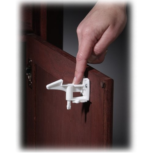 KIDCO SPRING ACTION CABINET LOCK 4-PACK BY KIDCO