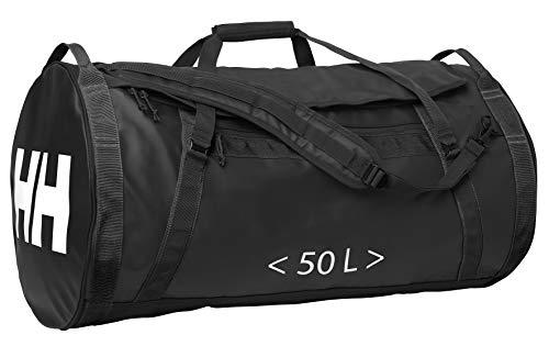Helly Hansen HH Duffel Bag 2 Bolsa de Viaje, Unisex Adulto, Negro (Black 990), 50L (S-59x30 cm)