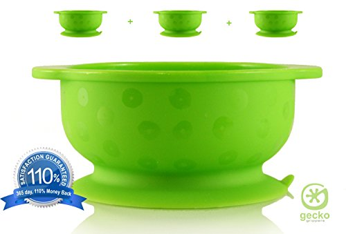 Gecko Grippers - The Best, Super, Suction Bowls