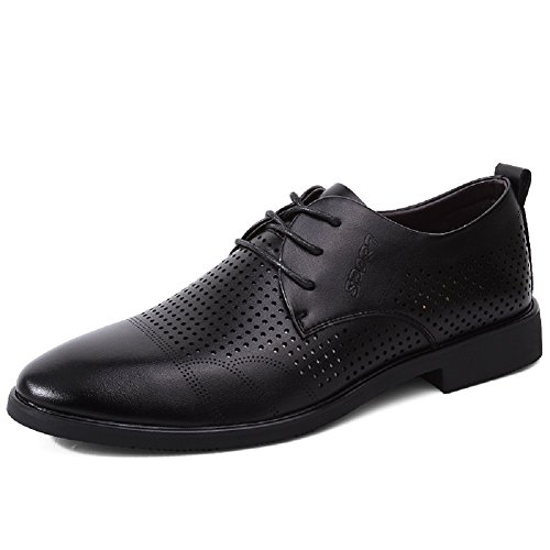 Scarpe stringate basse uomo scarpe pelle elegante estive