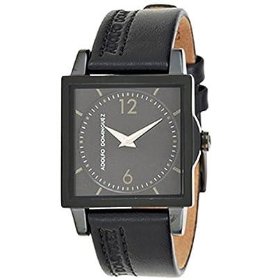 Adolfo Dominguez Watches 69092 - Reloj de Señora cuarzo correa de piel Negra de Adolfo Dominguez Watches