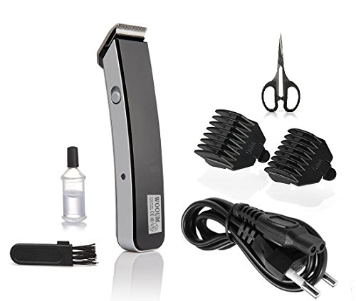 wooum Electric Beard Trimmer For Men-3401-Black