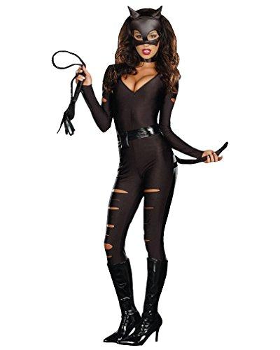 Shangrui Damen Schwarz Wild Catwoman Kostüm Cosplay (Kostüm Knight Cosplay Death)