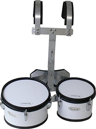 Steinbach Marching Drum Set 8 Zoll & 10 Zoll Set mit Halter