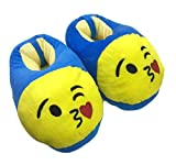 Trend Overseas Emoji Smiley Moody Shoes, Free Size