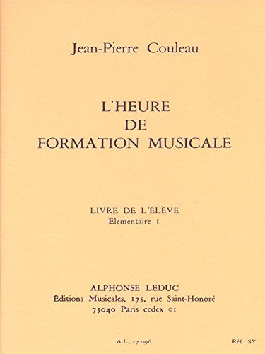 Jean-Pierre Couleau: Time for Music Education (Volume 1)