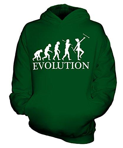 Candymix Baton Twirling Evolution des Menschen Unisex Kinder Jungen/Mädchen Kapuzenpullover, Größe 12-13 Jahre, Farbe ()