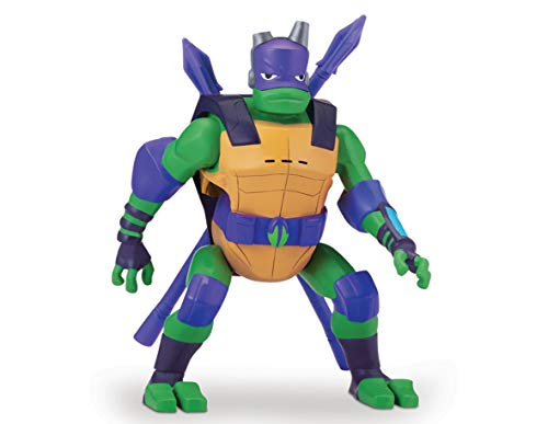 Teenage Mutant Ninja Turtles tuab2200die Rise Deluxe Action Figuren-Donatello SideFlip Attack (Tmnt Michelangelo Action Figur)