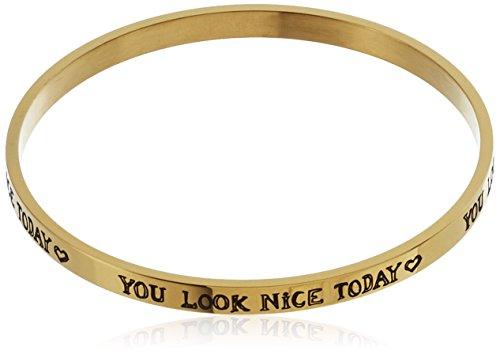 BOSS Casual Damen Armreif Ming, Gold (Gold 710), One size (Herstellergröße: STCK)