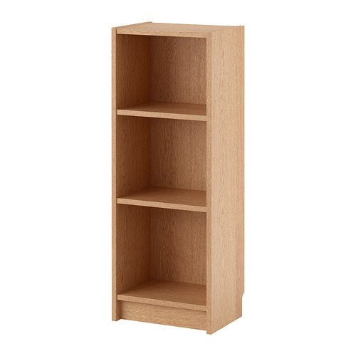 Estantes-ajustable-y-de-alta-calidad-chapado-en-madera-de-roble-40-x-28-x-106-cm-BILLY-estantera-para-libros