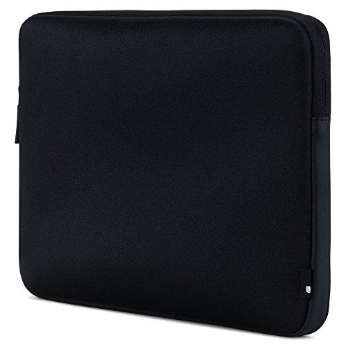 "Incase Classic Sleeve Schutzhülle Apple MacBook Pro (Retina) 13,3\"" / Pro 13,3\"" (2016 - 2018) / Air 13,3\"" (Late 2018) - Schwarz [Ariaprene Nylon,3mm Kunstfell-Interieur,Reißverschluss] - INMB100255-BKB"