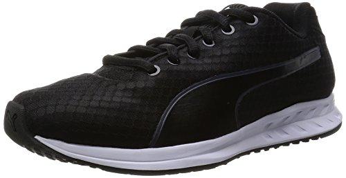 PumaBurst Wn's - Zapatillas de Running Mujer , color Negro, talla 38.
