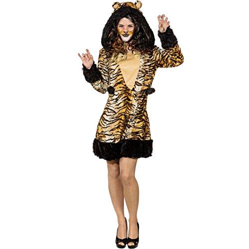 Imagen de disfraz mujer tigre  es 44/46 m/l | vestido tigre | disfraz felino | traje gato montés