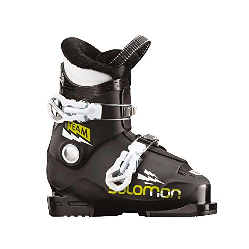 SALOMON ALP. Boots Team T2 Black/Acid Green Black/ORANGE - 21