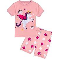 MOMBEBE COSLAND Girls Pyjamas Sets Summer Sleepwear