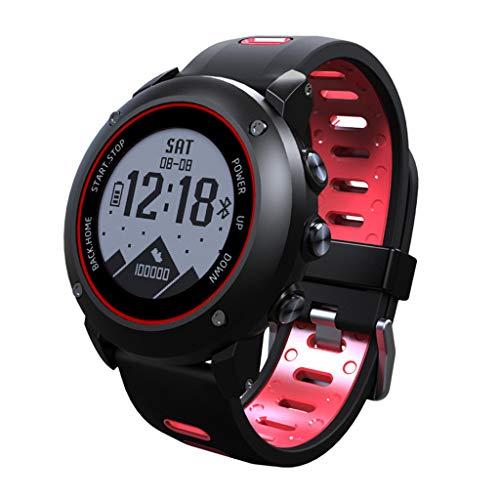 htfrgeds Smartwatch Fitness Tracker Sport Uhr Smart Watch mit IP68 Wasserdicht Herzfrequenz Blutdruckmessung Blutsauerstoff Monitor Schrittzähler mit iOS Android für Kinder Damen Herren (Herzfrequenz-monitor Wandern)