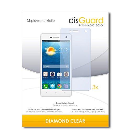 3 x disGuard® Schutzfolie Oppo Mirror 3 Bildschirmschutz Folie