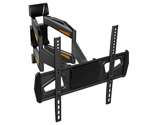 RICOO Fernsehhalterung S1844 Wandhalterung TV Schwenkbar Neigbar Halterung Wandhalter LED LCD Flachbild-Fernseher 76-140cm/30-42-50-55 Zoll - 2