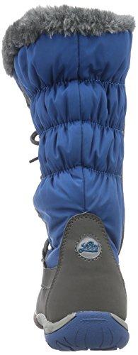 Lico Scarlett, Bottes en caoutchouc à tige basse et doublure chaude fille Turquoise - Türkis (petrol/grau)
