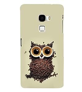 EPICCASE coffe owl Mobile Back Case Cover For LeTV Le Max (Designer Case)