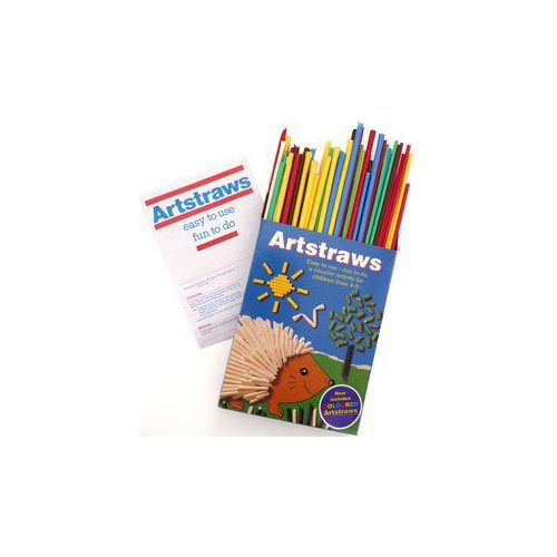 Artstraws Short  Pack of 220  Assorted Colours