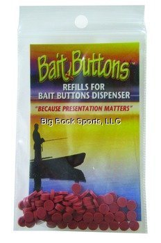 Bait Buttons Köder Tasten Original Refill, Rost -