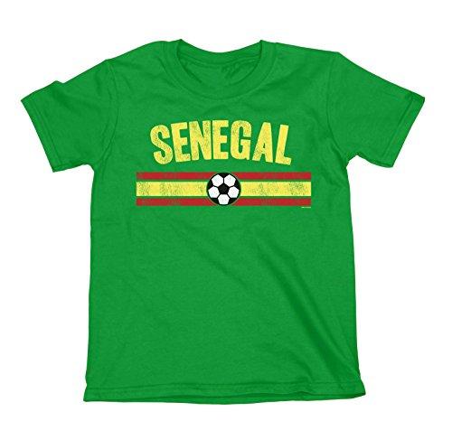 Buzz shirts NIÑOS O NIÑAS Senegal Distressed Country