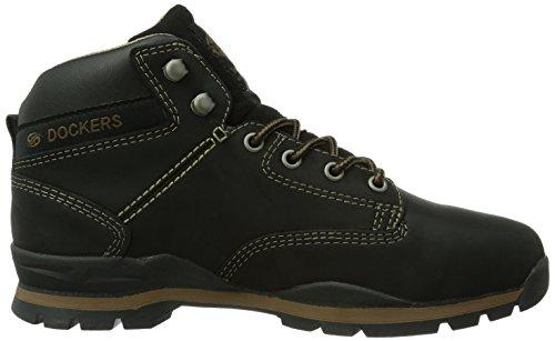 Dockers by Gerli 350510-007001 Herren Hohe Sneakers Schwarz (schwarz  001)