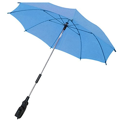 Gosear Parasol para carritos Paraguas Accesorios Azul