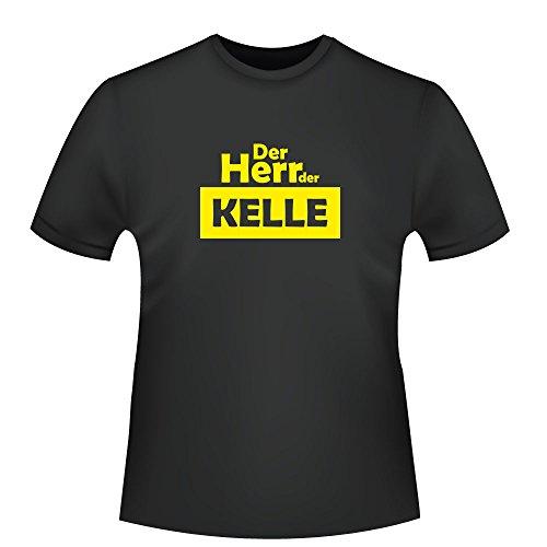 Der Herr der Kelle, Herren T-Shirt - Fairtrade - ID104158 Schwarz