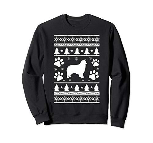 Australian Shepherd lovers ugly christmas gift Sweatshirt Australian Shepherd Sweatshirt
