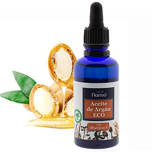 Aceite de Argan puro 100% natural de Marruecos Bio/Ecológico pelo, piel, cuerpo y uñas - prensado en frío hidratante anti envejecimiento - antiarrugas