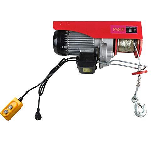 OUKANING Housse de lime électrique pour treuil moto/treuil électrique avec câble de traction pour treuil et grue 100/200 kg