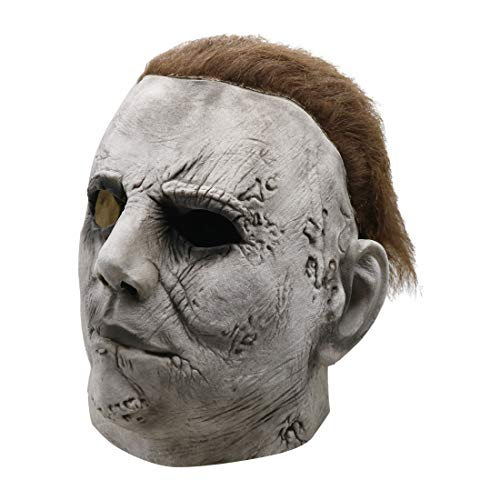 Ghost Kostüm Funny - Halloween Latex Kopf Masken, Horror Haunted House Kostüm Zombie Funny Scary Creepy Ghost Kostüm