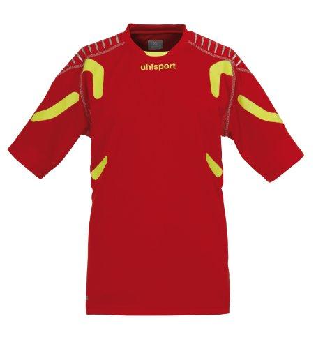 uhlsport Torwarttech Shirt KA, rot/fluogelb, XXL, 100557301 (Neue Herren Union-anzug)