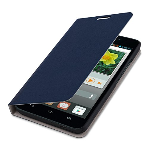 kwmobile Huawei Ascend G620s Hülle - Handyhülle für Huawei Ascend G620s - Handy Case Schutzhülle Klapphülle