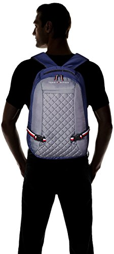 Best tommy hilfiger backpack in India 2020 Tommy Hilfiger Fashionare 28.5 Ltrs Grey Casual Backpack (TH/BIKCL07FAS) Image 4