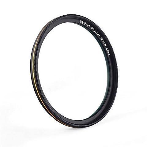 77mm MC UV Filter - Ultra dünn 16 Schichten Multi-Beschichtung Ultraviolett-Schutz Linse Filter für Canon Nikon Sony DSLR