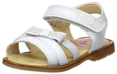 Pablosky Bambina 009500 Sandali bianco Size: 25 EU