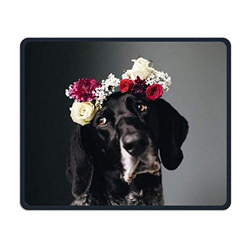 Hound Dog Smooth Nice Personality Design Mobile Gaming Mouse Pad Work Mouse Pad Office Pad -