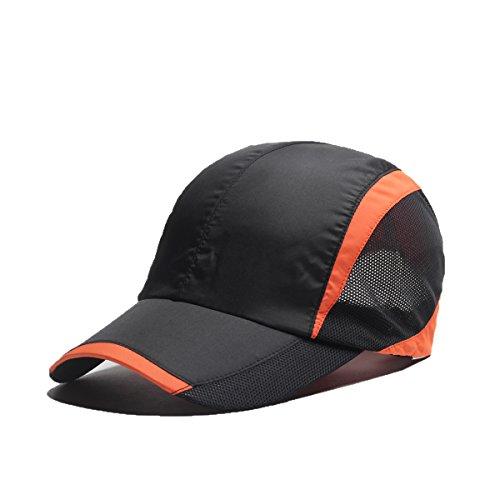 Schnelltrocknend Safari Sonnenhut Unisex Sommer UV-Schutz Löffel Mesh Cap Baseball Caps Herren Damen Hut - Baseball-löffel