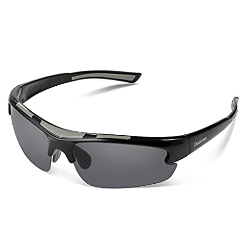 Duduma Polarised Sports Sunglasses mens and womens for Fishing Running